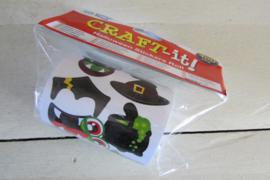 Stickers halloween op rol 400 stuks