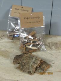 Zakje met stukjes schors 30 gram