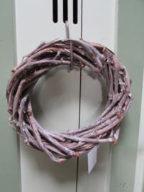 Krans van druivenhout 24/25 cm