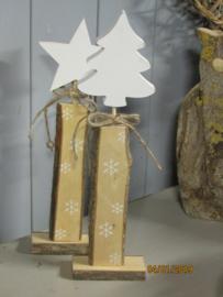 Kerstboom op standaard