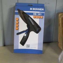 Lijm pistool HB 181 van Buhnen 190 graden