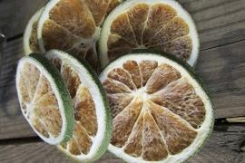 Limoenschijfjes