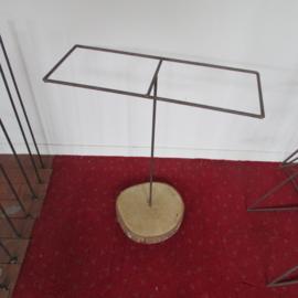 Frame op houten schijf