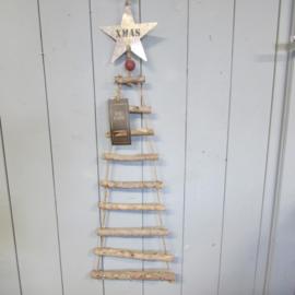 Kerstboomladder