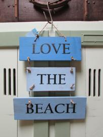 Love the beach 26x32 cm