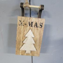 Sleetje kerstboom XMAS