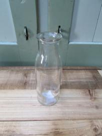 Vaasje van glas 14x4,5 cm