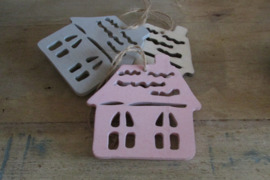 Huisjes 3 stuks