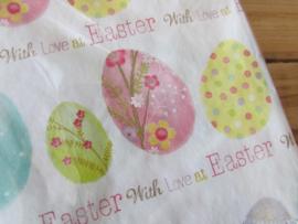 Paas servetten, Easter with love (normaal formaat)