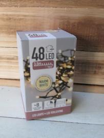 Binnen en buitenverlichting  48 lamps (op batterij)