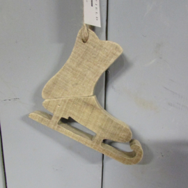 houten schaatsje 15 cm