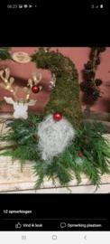 Kerstman met vers groen, alleen afhalen!