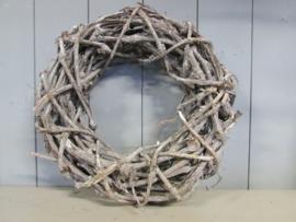 Krans  van druivenhout 40 cm