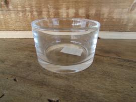 Waxine glaasje (voor de grotere maat waxinelichtje)