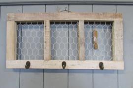 Kapstok met kippengaas 58 cm