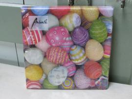 Servetten Colourful eggs normaal formaat