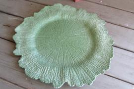 Onderbord oneffen groen 35 cm