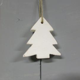 Kerstboom krijtverf 9 cm