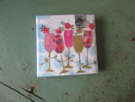 Servetten, Happy drinks (klein formaat)