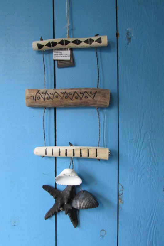 Zeester/schelp decoratie 40 cm