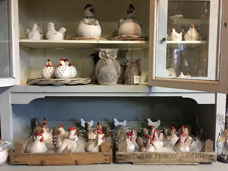 Keramische Tuinbollen De Leukste Kippen Voor Buiten Binnen Sgdeco