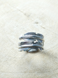 Ring sterling zilver 925 , Veer