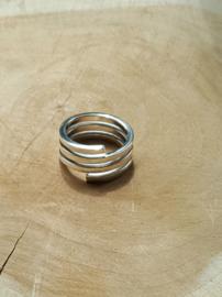 Opengewerkte ring Sterling zilver 925