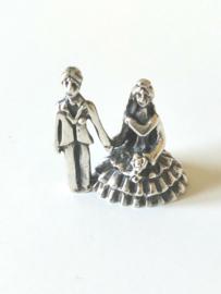 Bruidspaar sterling zilver 925
