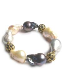 Armband  met barokparels
