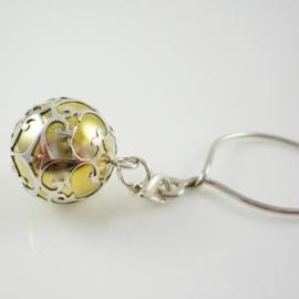 Fijntjes zwangerschapsketting- zwangerschapsbelletje zilver