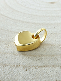 Ashanger  hart goldplated