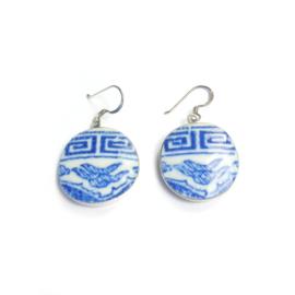 Oorbellen  zilver Ming Jewelry - Ming Porselein