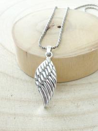 Ashanger vleugel zilver