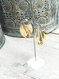Oorbellen Sterling zilver 925 met goud, pronkstukken