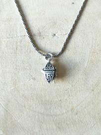 Ashanger klein zilver