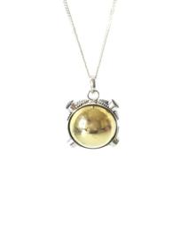 Zwangerschapsbal sterling zilver 925 met amethist