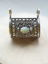 Belandong zilver met opaal