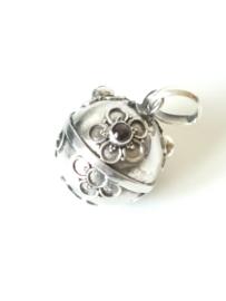 Zwangerschapsbal sterling zilver 925 met granaat