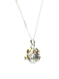 Zwangerschapsbal sterling zilver 925 Kus de kikker