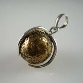 Zwangerschapsbal sterling zilver 925 Stoer