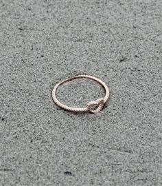 Heart To Get ring rose goud