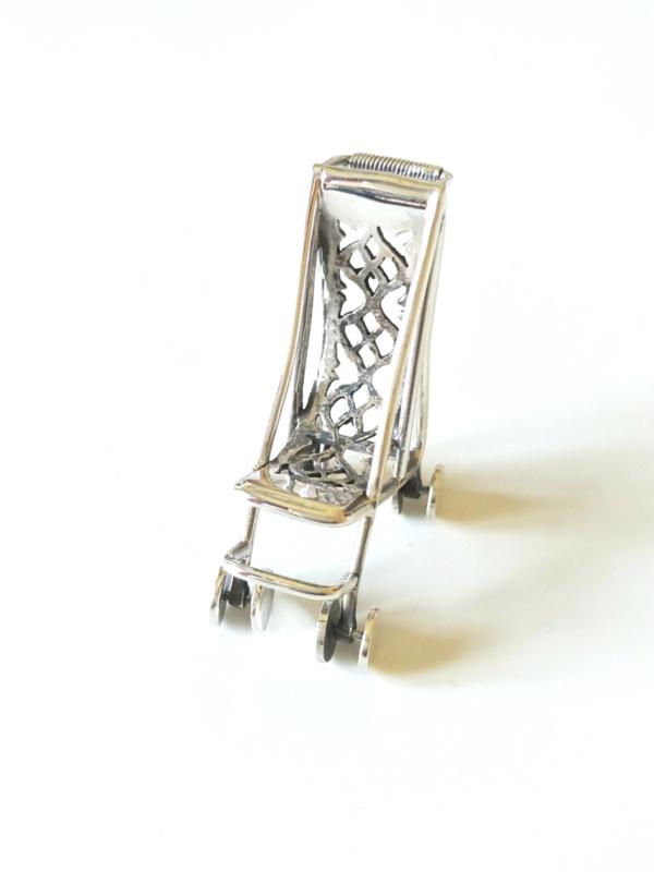 Kinderwagen Buggy sterling zilver 925