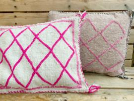 Beni Cushion Vintage Pink