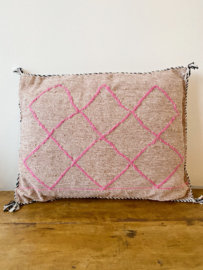 Beni Cushion Vintage Pink