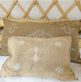 Sabra Cushion Soft Brown 60x30