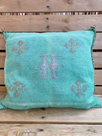 Sabra Cushion Turquoise 45x45