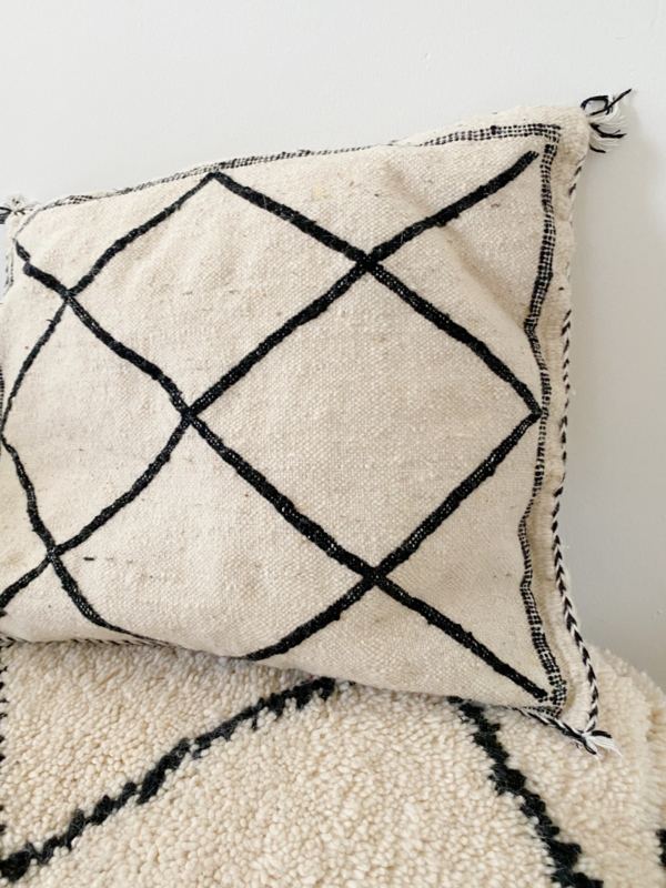 Beni Thin Wool Cushion