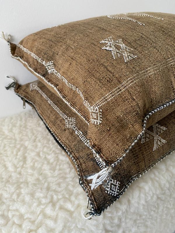 Sabra Cushion Brown 45x45