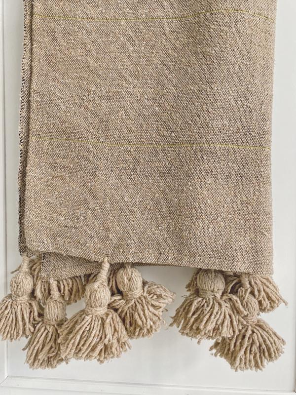 Pompom blanket 1.5x2