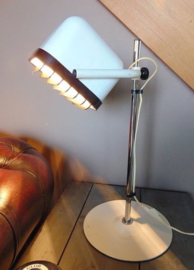 Vintage Hans Agne JAKOBSSON table lamp, Swedish Mid century industrial topdesign